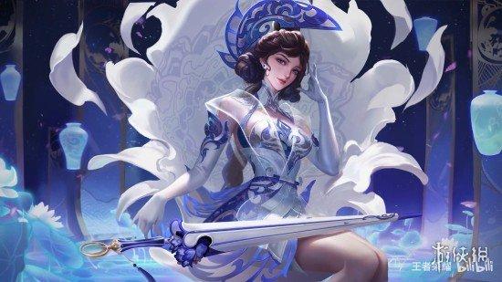 """《王者荣耀》露娜新皮肤""""瓷语鉴心""""即将上线 一位能与瓷器共鸣的女神鉴宝家"""