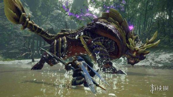 《怪物猎人:崛起》X卡普空CAFE联动!主视觉图公布