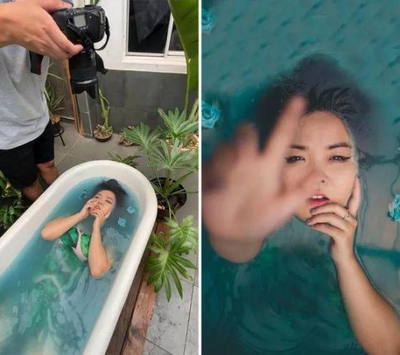 拍照方式让你大跌眼镜!30张花絮照揭秘大片拍摄过程