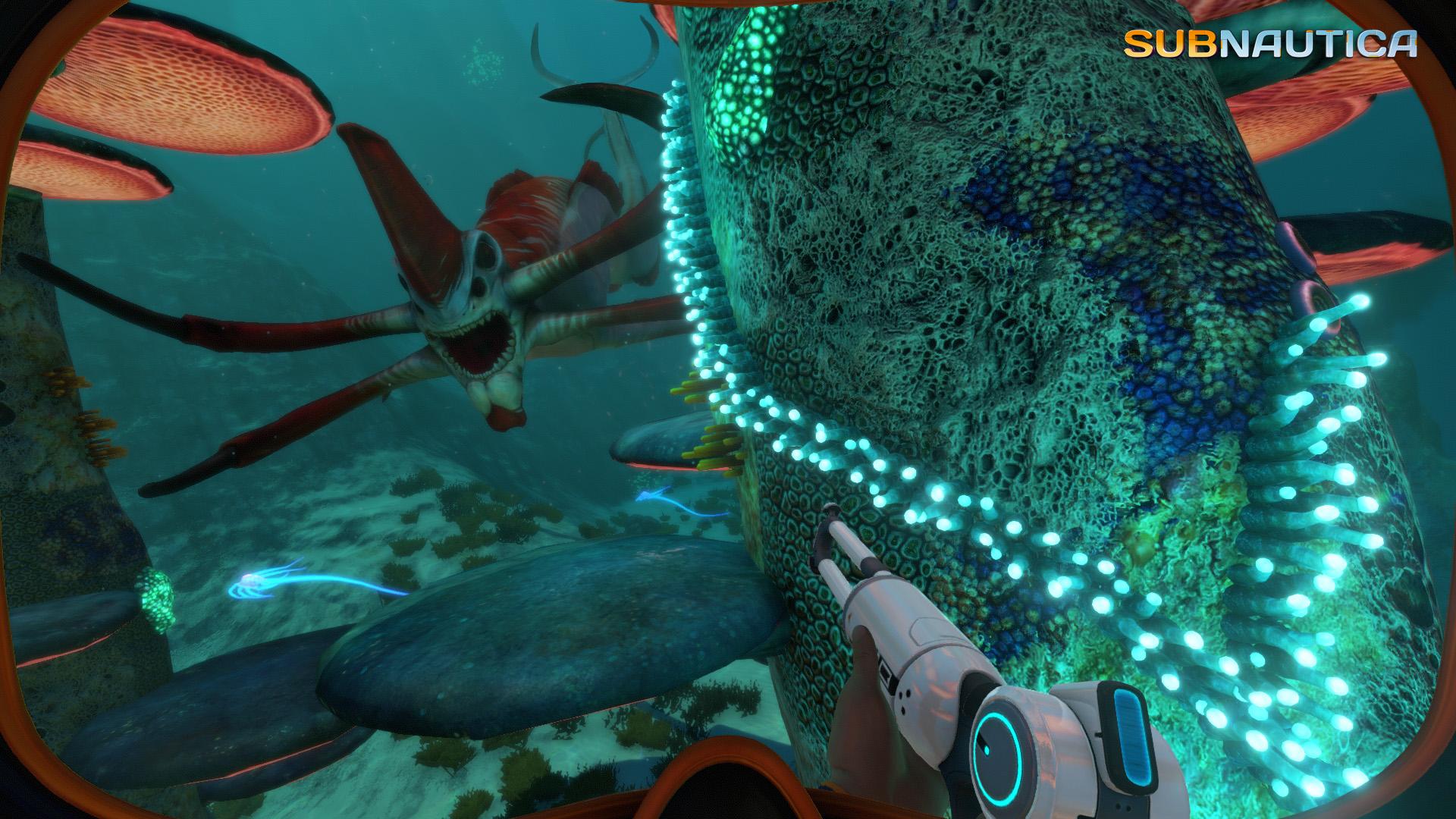 沙盒生存建造游戏《深海迷航》PS5版5月14日发售!