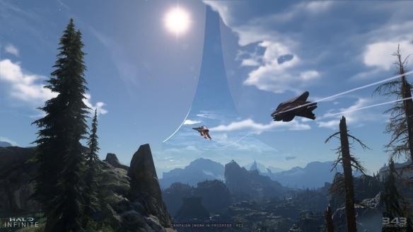 《光环:无限》拥有动态天气 不同时间环境影响不同