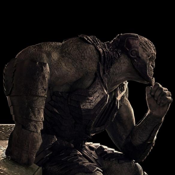 导剪版《正联》达克塞德1/4雕像 DC宇宙最强大的新神