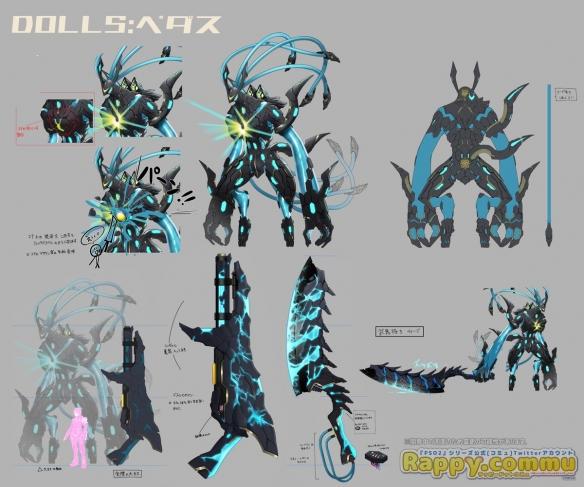《梦幻之星OL2:新起源》截图!怪物艺术设定原画公开发布