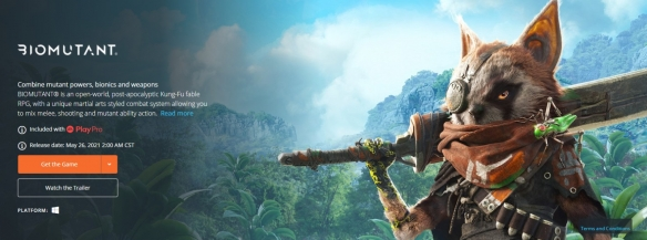 《生化变种》首发还将登陆EA Play Pro 只需月费15美元即可解锁所有游戏PC版