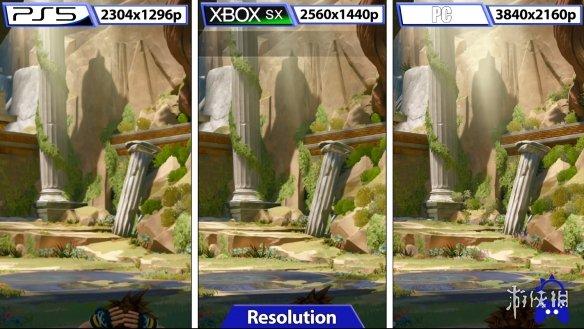 《王国之心3》PC画面VS次世代主机:画面水准更胜一筹