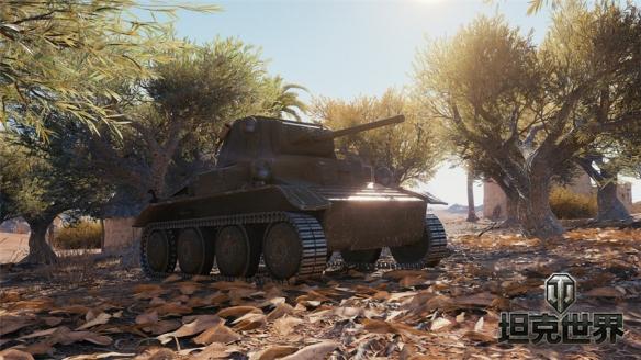 """入高账送金坦《坦克世界》新轻坦MK VII""""领主"""""""