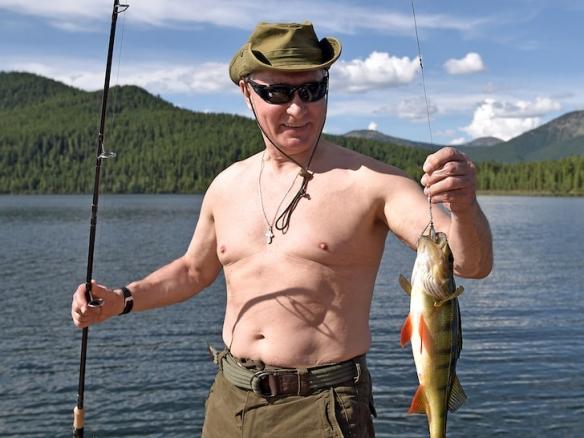 不仅是最高领导人!普京再次当选俄罗斯最性感男性