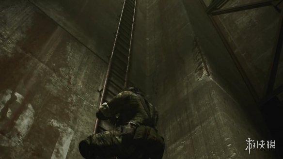 粉丝虚幻引擎4重制《合金装备3》!展示蛇叔爬梯场景