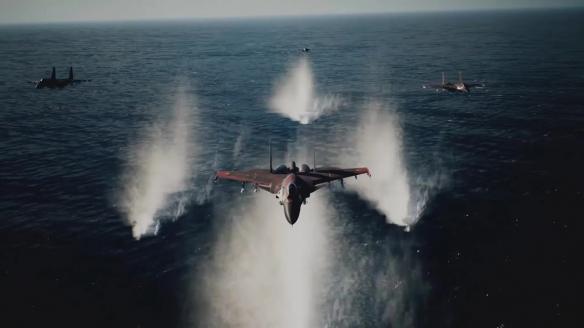 《皇牌空战》系列25周年新DLC 加入3架试验机+新涂装