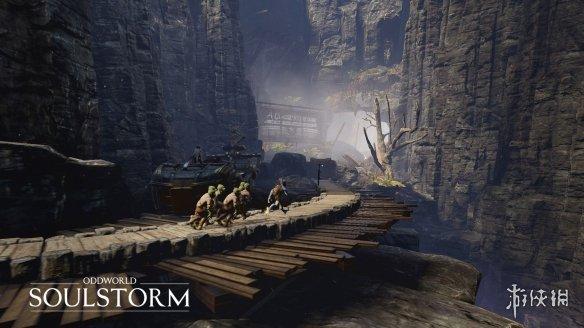 动作冒险游戏《奇异世界:灵魂风暴》视你所救出的Mudokons的数量将有4个不同结局