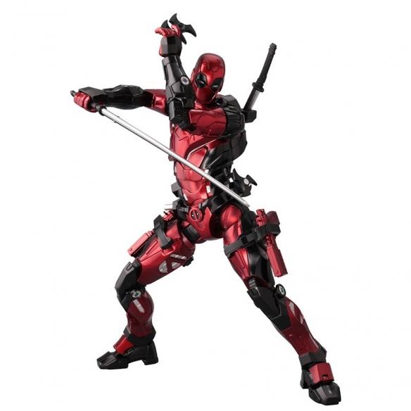 千值练fighting armor死侍人偶 多骚的姿势都能摆!