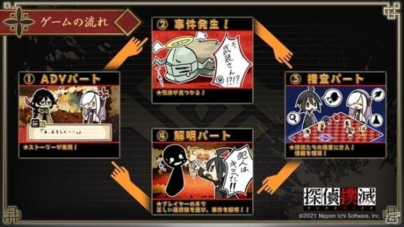 日本一《侦探扑灭》真相解明部分、收集要素等介绍!