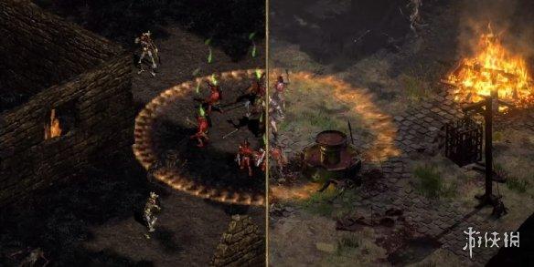 《暗黑破坏神2重制版》A测实机截图!画质和光照效果增强