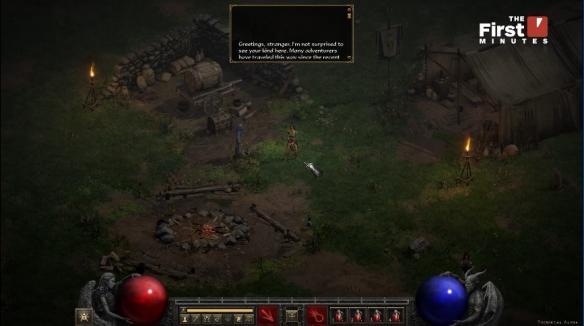 《暗黑破坏神2重制版》A测实机演示!女巫开局视频放出