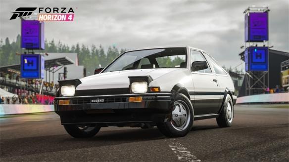 《极限竞速:地平线4》第34季更新:AE86限时回归!完成赛季任务即可获得两款经典车型