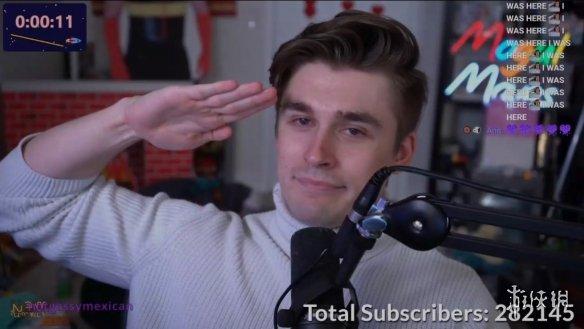 连续直播31天 路德维希成为Twitch历史上最多订阅主播