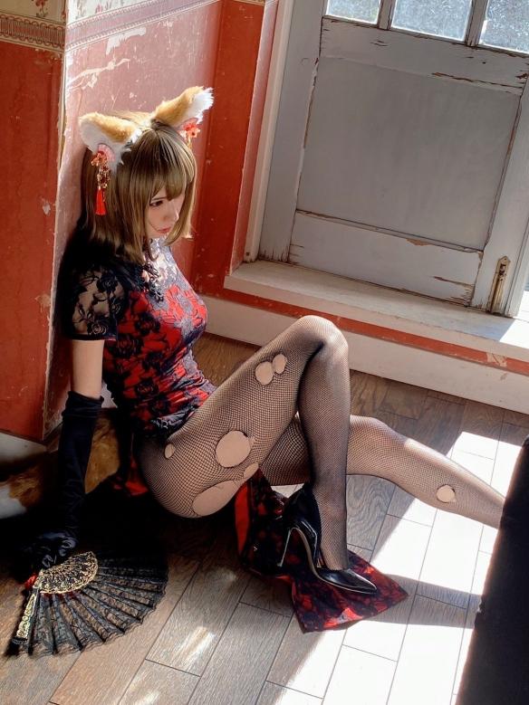 兽性大发!Cos女神Enako &《BEASTARS》:动物写真集!