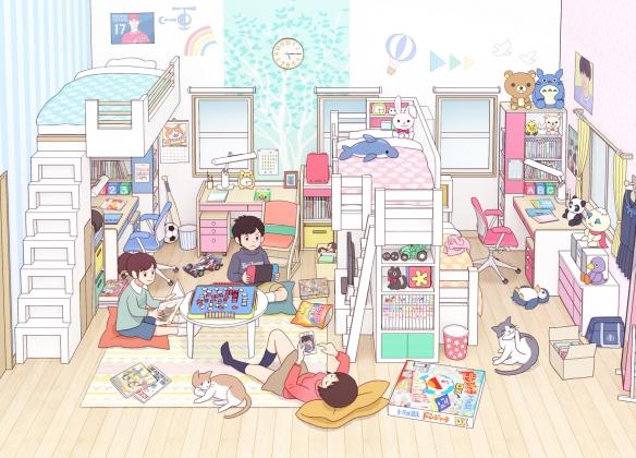 """日本画师笔下的""""高中生的青春期"""" 热评:太日本了"""