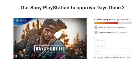 9万玩家请愿,这下《往日不再》能数出2了吗?