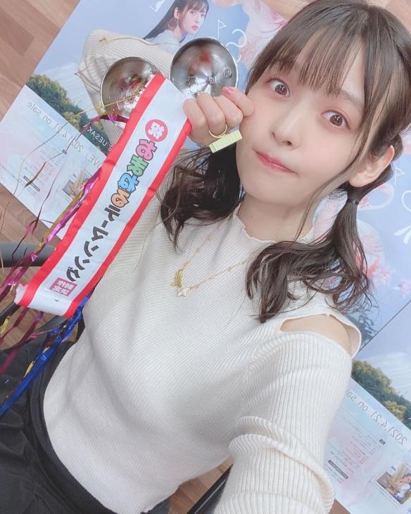"JK制服太青春了!美女声优""政委""上坂堇美照赏"