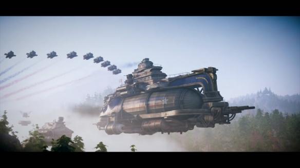 蒸汽朋克风RTS《钢铁收割》新DLC发表!预告片公布