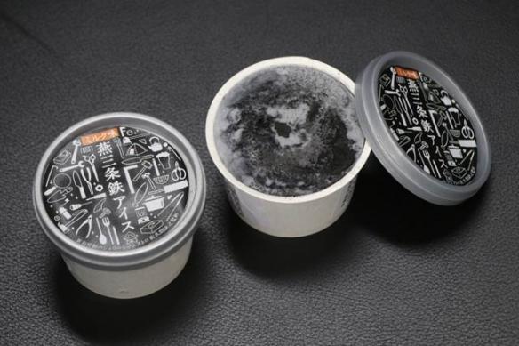 """硬汉必吃!散发金属味的""""铁粉冰淇淋"""":极致冰凉!"""
