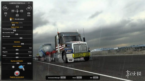 《欧洲卡车模拟2》1.41版本更新后将加入拍照模式!