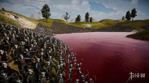 流血模拟器!《史诗战争模拟器2》最新演示公布 还将开发AI游泳、溺水功能