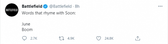 EA官方宣布《战地6》发售时间!确认6月正式公开
