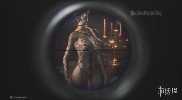 狙击枪还能这样用!《生化危机8》吸血鬼夫人性感蕾丝mod演示