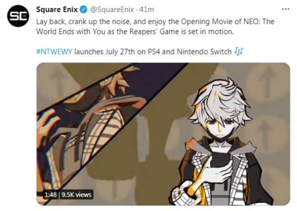 《新美妙世界 NEO: The World Ends With You》开场动画公布!7月27日登陆PS4/NS平台