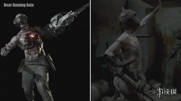 """《弗兰肯斯坦兵团》vs《生化8》对比视频 网友:这得叫""""致敬"""""""