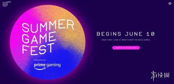 "TGA创始人宣布""夏季游戏节""将于6月10日以直播形式回归"