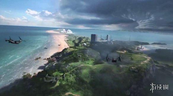 《战地6》实机片段和GIF动图泄露!飞机坠落场面好震撼