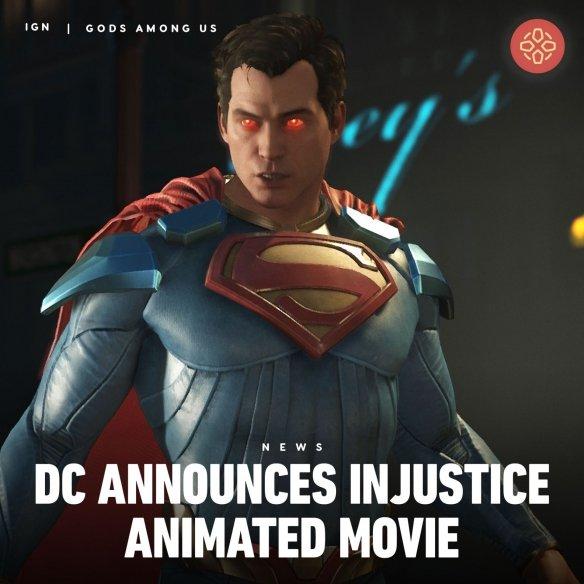 DC敲定游戏改编《不义联盟》动画预告片曝出:正义联盟vs残暴超人