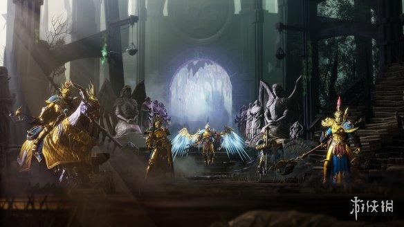 《战锤西格玛时代:风暴之地》暗黑幻想宇宙桌游的战略电子游戏