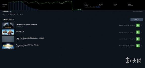 Steam客户端新版下载界面UI曝光!逐步移除原有VGUI