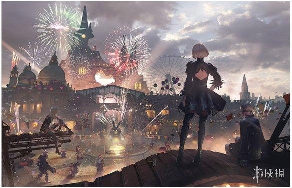 SE推出《NieR Art 幸田和磨画集》预计6月28日发售!