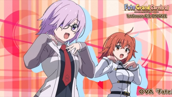 《FGO嘉年华》OVA动画公开第一季OP  第二季今年八月上映