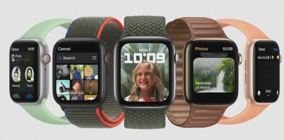 watch OS 8升级更新:新增人像表盘、太极训练模式