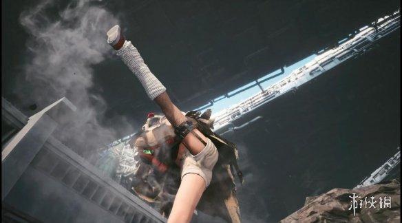 《FF7重制过渡版》尤菲篇实机演示!调皮可爱女忍者