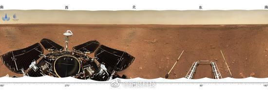 """火星车像大鹅!祝融号火星车首批""""摄影作品""""公布"""
