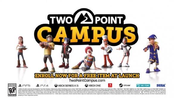 夏日游戏节:双点系列新作《双点大学》正式公开