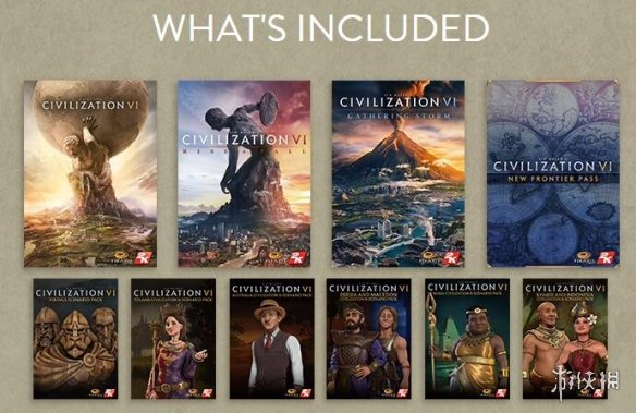终极完整捆绑包《文明6:典藏版》Steam 2.3折低价促销