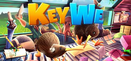信不能停!《KeyWe》轻松可爱的多人合作式解谜游戏