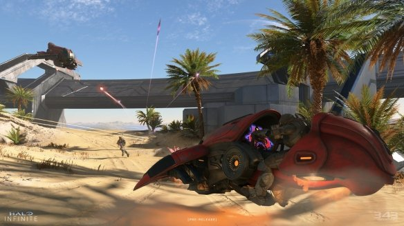 《光环:无限》5大地图名称及描述:含古老沙漠景观!