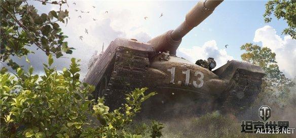 自行火炮高能重制《坦克世界》新1.13版本前瞻爆料