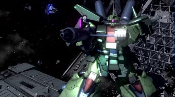 《机动战士:激战任务2》新机体!扎古Ⅲ强化改装