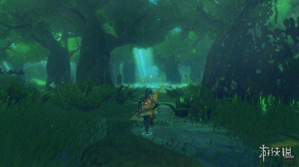 《塞尔达:荒野之息》8k光追重着色运行 将于2022年发售