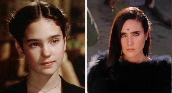 好莱坞明星处女作VS最近作品对比照:寡姐10岁好乖!